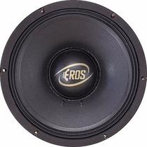 Alto Falante Eros E612 Full Black 4 Ohms 1.200w 600rms