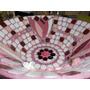 Centro De Mesa - Frutera Decorada Con Venecitas Y Mosaico