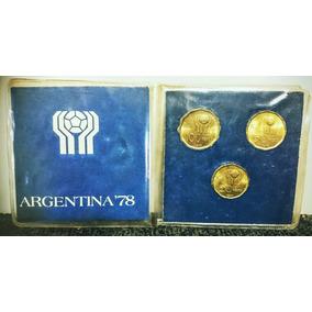 Set De Monedas Argentinas - Mundial 1978 - Blister Original