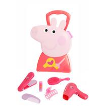 Brinquedo Maleta Peppa Pig Cabeleleiro