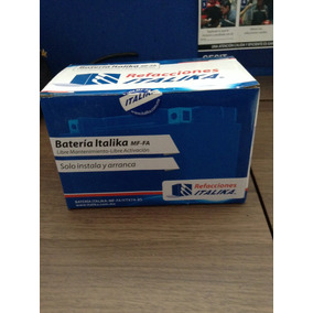 Batería Italika Original Motoneta