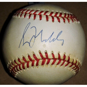 Pelota Firmada Greg Maddux Atlanta Braves Mlb Epoca 90