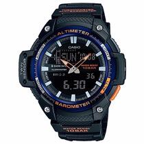 Relógio Casio Masculino Sgw-450h-2b Altimetro Termometro