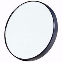 Espelho Aumento 10x Com Ventosa Maquiagem Limpeza Pele 6 Uni
