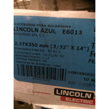 Electrodo 6013 3/32 Lincon Azul