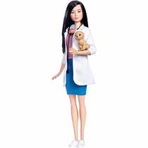 Barbie Veterinária Oriental 2017 Profissões Quero Ser