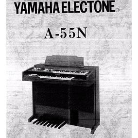 Manual De Serviço Órgão Eletrônico Yamaha A55n-nf