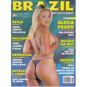 Revista Brazil Sex Magazine Nº 65 Ano 7 Capa - Alexia Prado