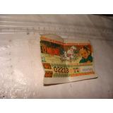 Antiguo Billete De Loteria Año 1972