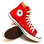 Botitas Converse Modelo Chuck Taylor All Star Color Red