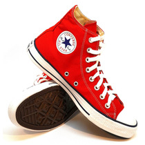 Botitas Converse Modelo Chuck Taylor All Star Color Red