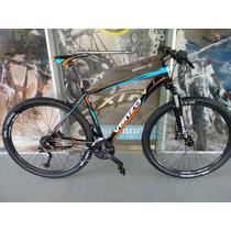 Bicicleta Mtb Venzo Vulcan R29 Shimano De 27 Velocidades Pro