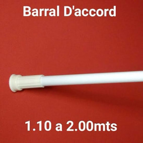 Lomasmarket Barral Cortina Baño D Accord 1.10mt A 2.00mt...