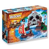 Blocky Isla Pirata Bloques Dimare Ladrillos 320 Piezas