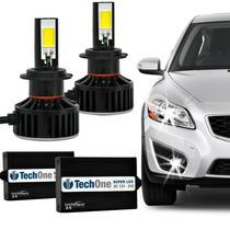 Kit Super Led H7-7400 Lumens 6000k 24/36w 12-24v Tech One