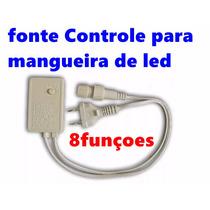 Fonte Controle Para Mangueira De Led 8 Funcoes