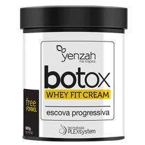 Botox Whey Fit Cream Yenzah - Escova Progressiva 900g