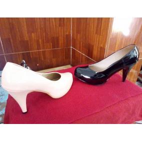 Zapato Con Taco 7 Negro, Unica Talla Nº39
