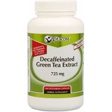 Green Tea Extract Te Verde Descafeinado 100 Caps Quema Grasa