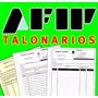 Talonarios Afip - Imprenta Autorizada - Salta Capital