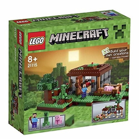 Lego Minecraft 21115 The First Night Construccion Educando