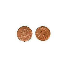 1943 Cobre Plateado Real De Us Steel Moneda Del Penique Num