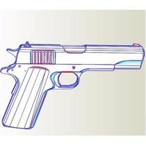 Replica Colt 1911/45 - Armas - Reales - Patrones