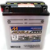 Bateria Aprilia Scarabeo 150 Moura Yb12al-a Mv12-d