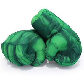 Par De Luvas Incrível Hulk 28cm - Promoção