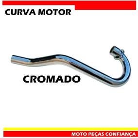 Curva De Saída De Motor Wacs Crf 230 Cromado