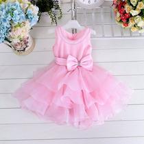 Vestido Infantil Bebe Festa Aniversario Batizado Formatura