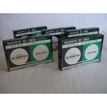 Audio Cassette Sony C-90 Plus 2 Vintage 1971 Muy Raro #serie
