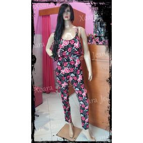 Mono Enterito Largo Fibrana Mujer - Xoara Jeans