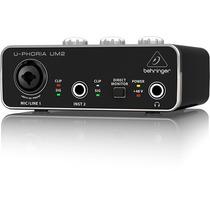 Interface De Audio Behringer Um2 U-phoria Usb Um-2 Original