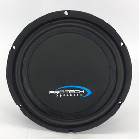 2 Subwoofers Protech Speakers - Light 10 - 420wrms