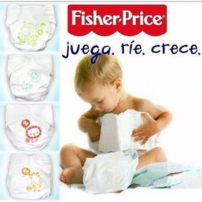 Pañales Ecológicos Fisher Price Talla P, M, G Y Xg