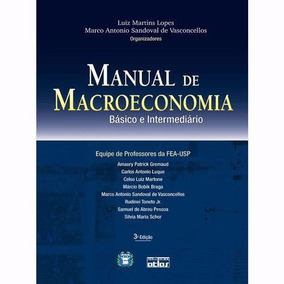 Manual De Macroeconomia - Básico E Intermediário 3ed (ebook)
