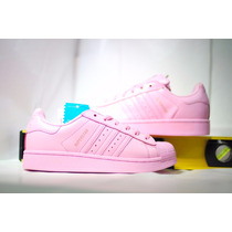Adidas Superstar Rosa Super Star Concha Rosas Shell Pastel