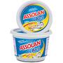 4 Sabão Pote 500g Atol Em Pasta Neutro E Brilho Assolan
