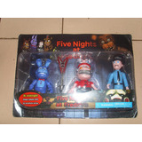 Set Blister Five Nights At Freddy`s X3 Personajes