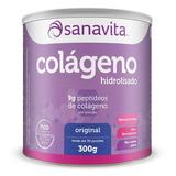 Colágeno Hidrolisado 300g Sanavita Original