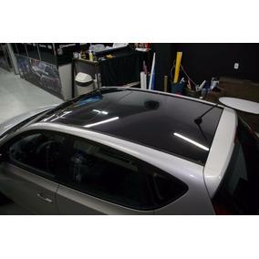 Adesivo Envelopamento Carro Moto Preto Black Piano 5mx1.22m