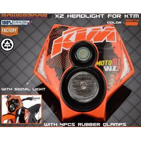 Farol Moto Ktm Street Universal Trilha Off Road Mx