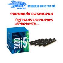 Kit 7ª Geração - I5 7400+ Mb H110m-h Ddr4+ 8 Gb Ram- Testado