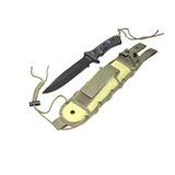 Cuchillo Tactico Cold Steel Paracord Funda Lelab 82030