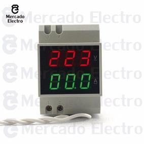 Voltimetro Amperimetro Mide Tension Y Corriente Hasta 100a