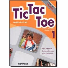 Livro Tic Tac Toe 1 English For Kids Ed:richmond
