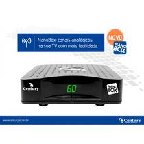 Kit 10 Aparelhos Receptor Century Nano Box Parabólica Novo