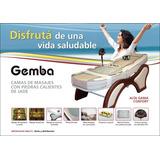 Camilla/cama Con Piedra De Jade Alta Gama Confort Importador