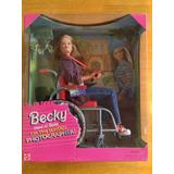 Becky Amiga De Barbie Soy La Fotógrafa Del Colegio 1998